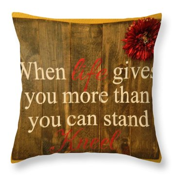 Seek And Ye Shall Find Throw Pillow