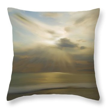 Seek And You Shall Find Throw Pillow by Liane Wright