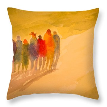 Seekers I Throw Pillow