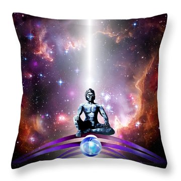 Seeking  Throw Pillow