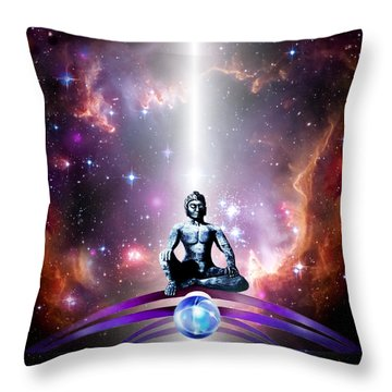 Seeking  Throw Pillow