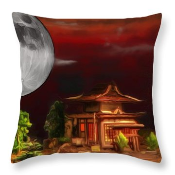Seeking Wisdom Throw Pillow