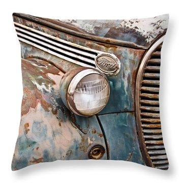 Seen Better Days Throw Pillow by David Lawson