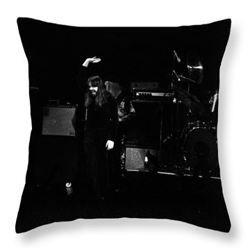 Seger #6 Throw Pillow