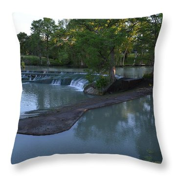 Seguin Tx 01 Throw Pillow