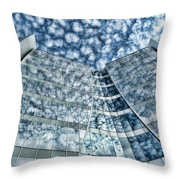 Throw Pillow featuring the photograph Seidman Cancer Center - Cleveland Ohio - 1 by Mark Madere