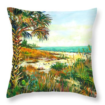 Seista Solstice Throw Pillow by Lou Ann Bagnall
