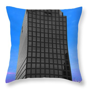Selective Color Hi Rise Throw Pillow by Bill Woodstock