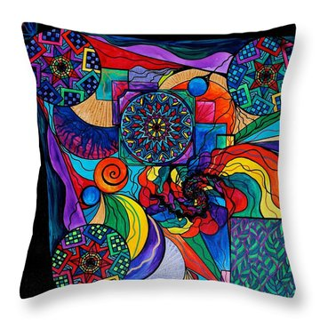 Self Exploration Throw Pillow