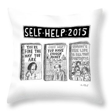 Self Help: 2015 -- Three Books With Titles That Throw Pillow