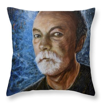 Self Portrait 2015 Throw Pillow