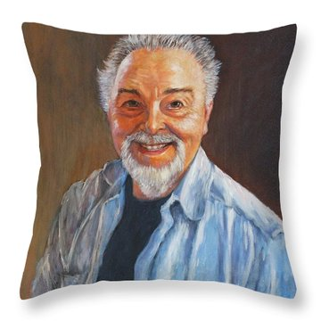 Death Warmed Over  Throw Pillow