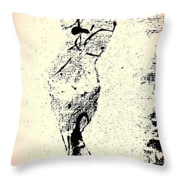 Self Realization Throw Pillow by Jacqueline McReynolds