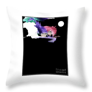 Selfless Souls Throw Pillow
