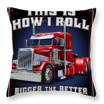 Truck Stop Throw Pillows