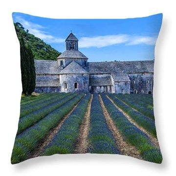 Senaque Abbey - Provence Throw Pillow