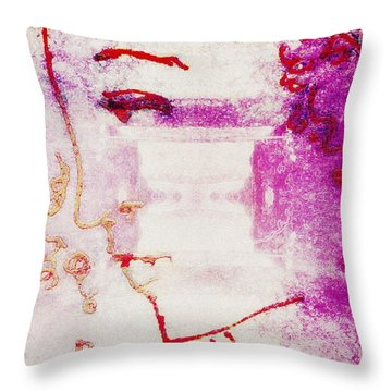 Sending Mary Home Throw Pillow by Candee Lucas