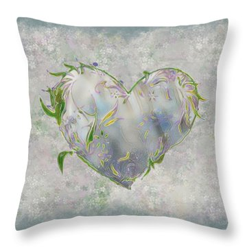 Sending Out New Shoots Throw Pillow