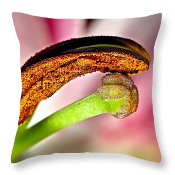 Sense Of Closeness Throw Pillow