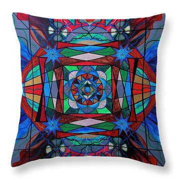 Sense Of Security  Throw Pillow
