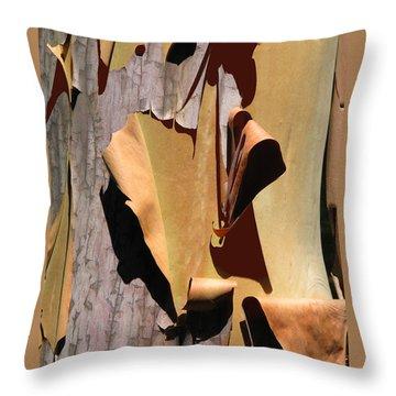 Sensitive Skin 2 Throw Pillow
