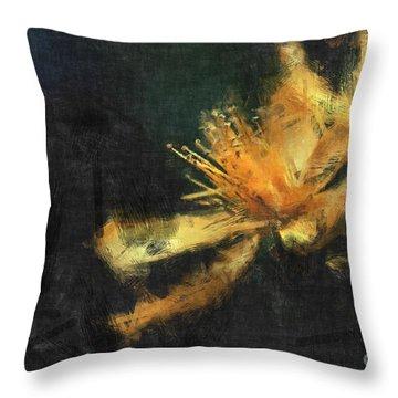 Sensitivity Throw Pillow by Aimelle
