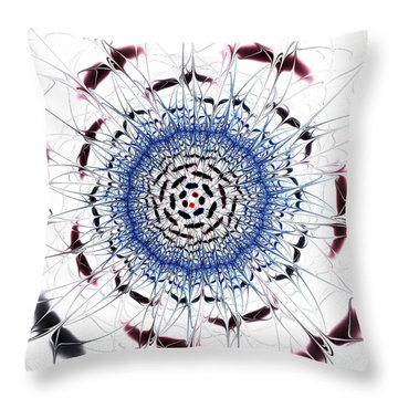 Sensory Overload Throw Pillow by Anastasiya Malakhova