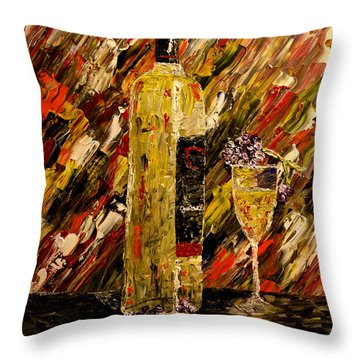 Sensual Nights Named Throw Pillow by Mark Moore