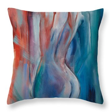Sensuelle Throw Pillow