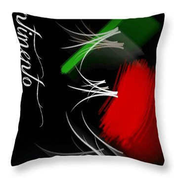 Sentimento Throw Pillow by Diana Angstadt
