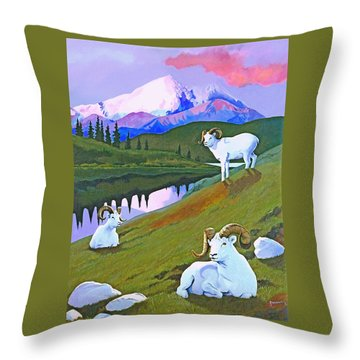 Sentinel Denali Throw Pillow