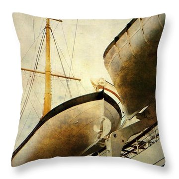 Sentry Throw Pillow by Leah Moore