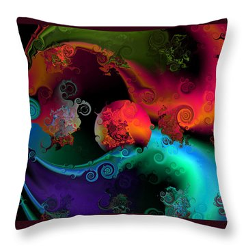 Seperation And Individuation Throw Pillow