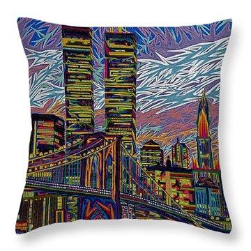 September 10th  Throw Pillow by Robert SORENSEN