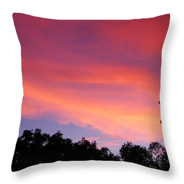 September Color Throw Pillow by Tom Mansfield