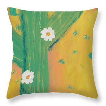 Sequoia Throw Pillow by PainterArtist FINs daughter