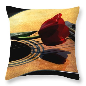 Serenade Throw Pillow