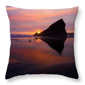 Oregon Coast Throw Pillows