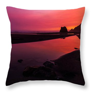 Serenade Flow Throw Pillow by Chad Dutson