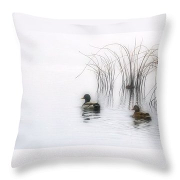 Serene Moments Throw Pillow
