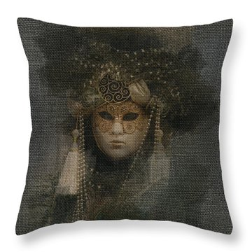Throw Pillow featuring the photograph Serenissima La Grigia by Jack Torcello