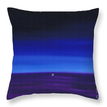 Serenity 3 Throw Pillow