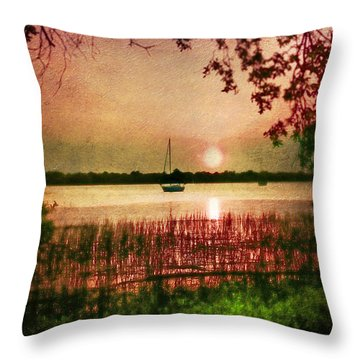 Serenity Throw Pillow by Brent Craft