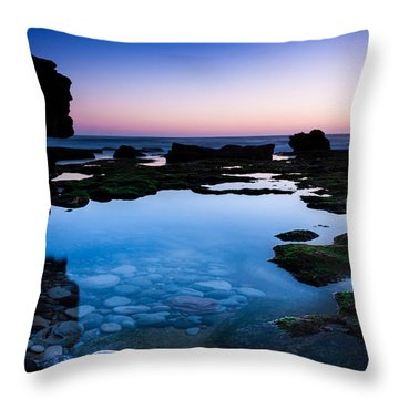 Serenity Throw Pillow by Edgar Laureano