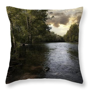 Throw Pillow featuring the photograph Serenity by Lynn Geoffroy