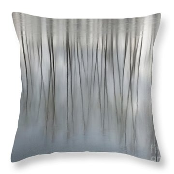 Serenity  Throw Pillow by Michelle Twohig