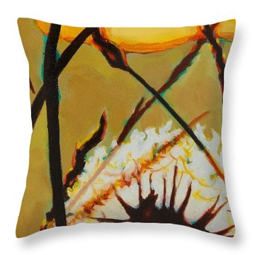 Serenity Of Light Throw Pillow