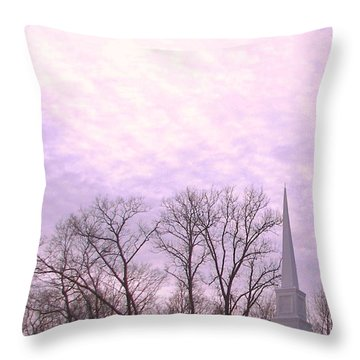 Throw Pillow featuring the photograph Serenity by Pamela Hyde Wilson