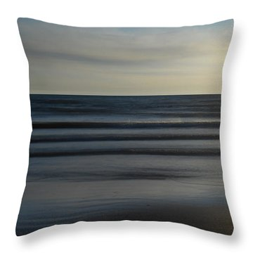 Serenity - Sauble Beach Throw Pillow