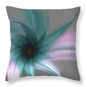 Throw Pillow featuring the digital art Serenity by Svetlana Nikolova